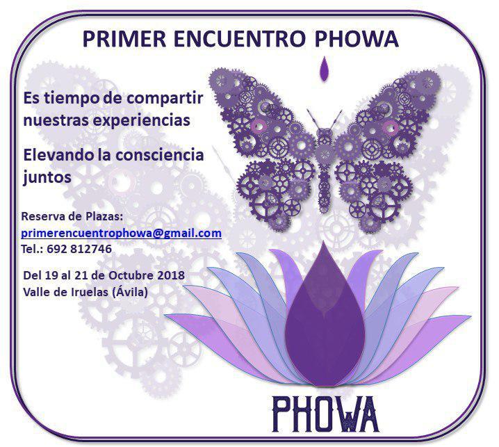 PRIMER ENCUENTRO PHOWA en el Valle de Iruelas del 19 al 21 de Octubre